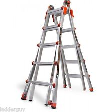 22 1A Velocity Little Giant Ladder 15422-001 300lb rating w/ wheels