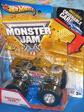 HOT WHEELS MONSTER JAM WRECKING CREW X-RAYS CRUSHABLE CAR ***BRAND NEW & RARE***