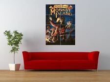 MONKEY ISLAND RETRO PC COMPUTER GAME GIANT ART PRINT PANEL POSTER NOR0044