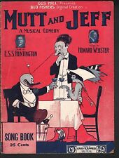 Mutt and Jeff Song Book Music and Lyrics for 6 Songs - Lyrics for 24 More