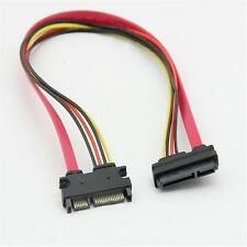7+15 22 Pin Power/Data Sata to 4-Pin IDE Molex&Sata Port Connector Combo Cable O