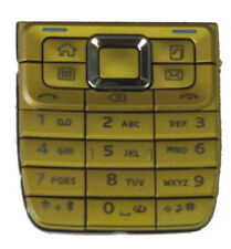 For Nokia E51 Replacement Keyboard Keypad Buttons Gold New UK