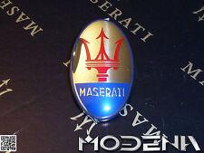 Maserati Emblem Dreizack 4200 Coupe Spyder oval Stoßfänger Stossstange vorne
