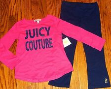 JUICY COUTURE TODDLERS/KIDS GIRLS BRAND NEW 2Pc SET DRESS SUIT Size 2T, NWT