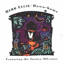 CD Down-Home by Herb Ellis GUITAR-1996, Justice Records)