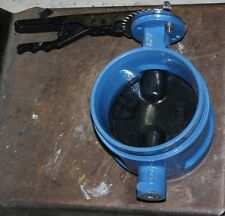 "6"" inch 150mm shouldered butterfly valve NEW PN16"