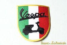 """Aufnäher """"Wappen Vespa"""" - Italy Italia Italien V50 PK PX GT GL GS Piaggio Patch"""