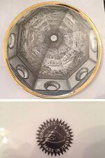 Piatto Cupole D' Italia Firmato Piero Fornasetti Anni 60 Modernariato Vintage