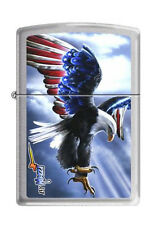Zippo 3626 mazzi eagle america RARE & DISCONTINUED Lighter