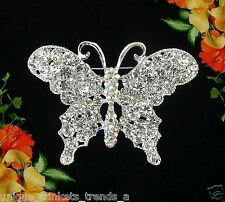 BEAUTIFUL BUTTERFLY BROOCH PIN~VALENTINES DAY GIFT FOR HER MOM WIFE GIRL FRIEND