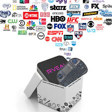Rveal Streaming Media Player & Android Smart TV Box w/ Mini Touchpad Remote