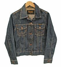 Vintage WRANGLER Denim Jacket Womens - S UK10 (25743)