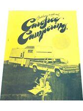 1973 Dodge Camper Truck Safety Guidelines Original Brochure