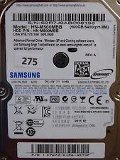 500GB Samsung HN-M500MBB   2011.12   PCB: M8_REV.03 #275