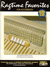 Ragtime Favorites for Accordion, Music Book & CD