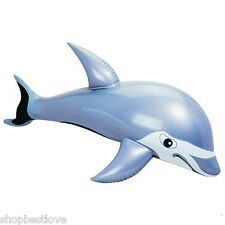 Inflatable Gray Dolphin 36 inches head to tail