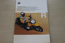 167780) bmw r 850 GS 1150 GS 850 C 1200 C folleto 08/1999