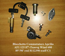 Blocchetto Commutatore Aprilia AF1 125 87'-Tuareg Wind 600 89'/90' c.8112398  C1