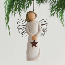 Willow Tree 27276  Angel of Light Hanging Ornament in Gift BOX   23287