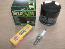 Oil Filter NGK Spark Plug Tune Up Kit Suzuki Vinson 500 King Quad 700 LT-A500F