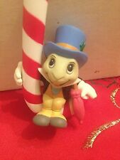 Jiminy Cricket  114 Pinocchio Grolier Christmas Magic Ornament Candy Cane In Box
