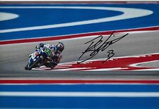 Enea Bastianini Hand Signed 12x8 Photo Gresini Honda Moto3 2016 MOTOGP 5.