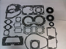 Yamaha 701 61x Gasket-kit-Set Wave-Runner-Blaster Super-Jet Comp W/ Crank-Seals