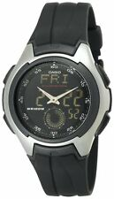 Casio Men'sAna-Digi Electro-Luminescent Sport Watch  AQ160W-1BV