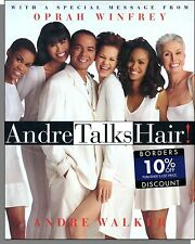 Andre Walker - Andre Talks Hair! (1997) - Hardcover Book With Lots of Pictures!