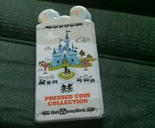Disney  Pressed Coin Penny Collection Holder Book Disney World  New