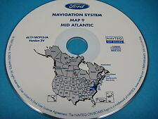 Ford Navigation CD Map 9 Mid Atlantic    2005 2006  Escape Hybrid Expedition
