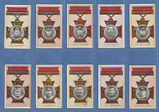 COHEN WEENEN & CO. -  RARE  SET  OF  50  VICTORIA  CROSS  HEROES  CARDS  -  1916