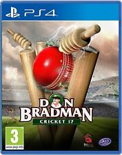 DON BRADMAN CRICKET 17 DBC 2017 PS4 Game (BRAND NEW SEALED)