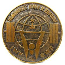 WORLD  WEIGHTLIFTING CHAMPIONSHIPS MOSCOW 1975 AUTHENTIC PARTICIPANT MEDAL