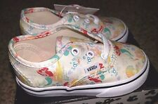 Vans x Disney Authentic Ariel The Little Mermaid Princess Toddler Baby Shoes 6