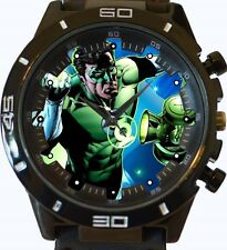 Green Lantern Comic Style 2 New Gt Series Sports Unisex Gift Watch