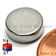 "Neodymium Disk Magnets N45 Dia 3/8"" x 1/8"" NdFeB Rare Earth Magnet Lot 500"