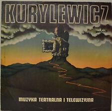 """OST - SOUNDTRACK - MUZYKA TEATRALNA I TELEWIZYJNA - KURYLEWICZ 12""""  LP (N211)"""