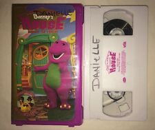 Barney - Come on Over to Barneys House (VHS, 2000) RARE