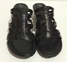 Naturalizer Bay Black Women's All Man Made Material Sandals Size 8M  New