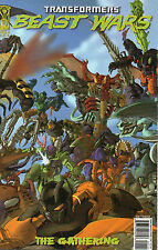 Transformers Beast Wars The Gathering #1 (NM) `06 Furman/ Figueroa (Wrap Cover)