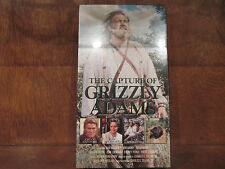 THE CAPTURE OF GRIZZLY ADAMS VHS NEW/SEALED