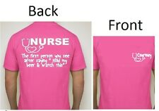 Add your name Nurse RN Funny T-SHIRT S, M, L, XL & 2XL words