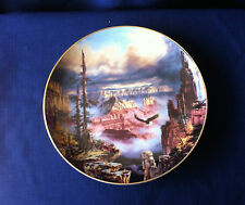 "Danbury Mint God Bless America ""Where Eagles Soar"" plate"