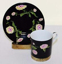 Mrs. Delany's Flowers Demitasse Cup & Saucer Carnation Sybil Connolly Tiffany