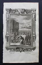 #6 SCHEUCHZER-BIBEL:SCENA SACRA BIBBIA.INC/RAME.1731..!