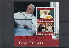 Ghana 2014 MNH His Holiness Pope Francis 2v S/S Yingluck Shinawatra Thailand