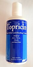 Topricin - New 8 oz bottle - Homeopathic - Pain Relief and Healing Cream