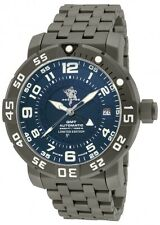 New Mens Invicta 14275 Sea Base Swiss A07 Automatic GMT Titanium Bracelet Watch