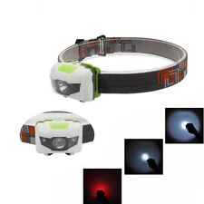 800LM 3LED Mini Headlight Headlamp Flashlight 4 Mode Ultra Bright Torch Light